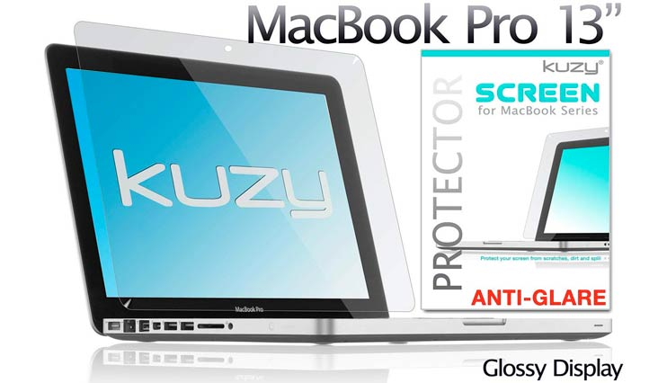 "Kuzy 13-inch Anti-Glare Screen Protector Film for Apple MacBook Pro 13.3"" (A1278) Aluminum Unibody Only Anti-Glare, Anti-Fingerprints, Matte"