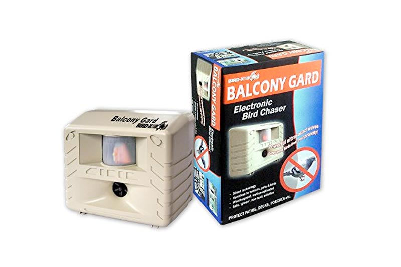 Bird-X Balcony Gard Ultrasonic Bird Repeller