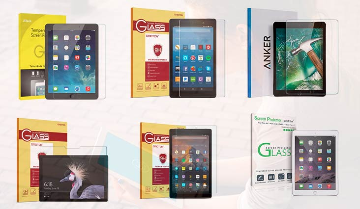 Best Screen Protector for Tablet Under 20 Dollars in Review 2018