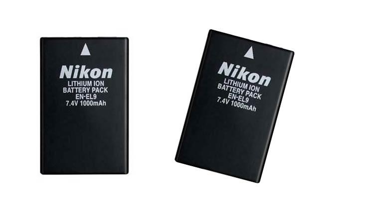 Nikon EN-EL9 Rechargeable Li-ion Battery for Nikon D40 and D40x Digital SLR Cameras