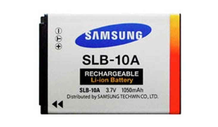Samsung SLB-10A 1050mAh Lithium Ion Rechargeable Battery