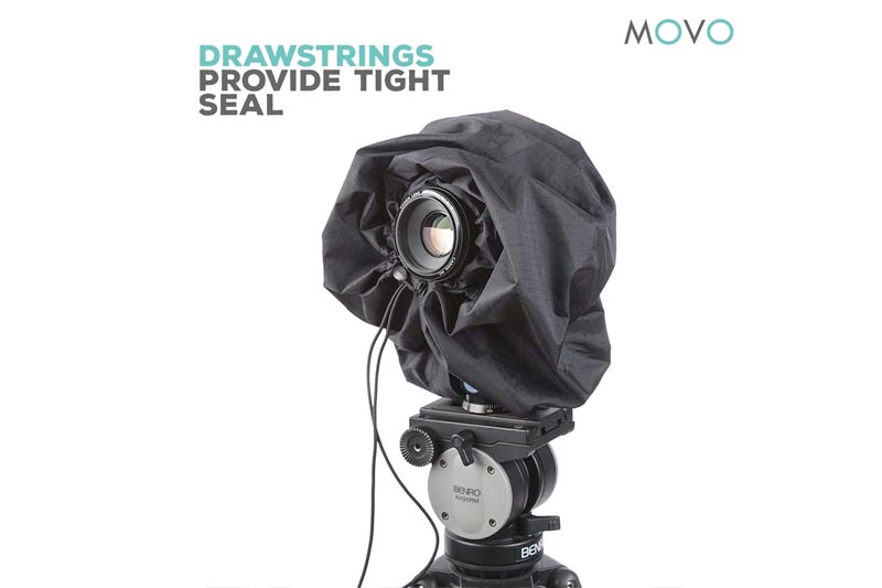 Movo CRC11 Storm Raincover Protector for DSLR Cameras, Lenses, Photographic Equipment (Junior Size: 11 x 14.5)